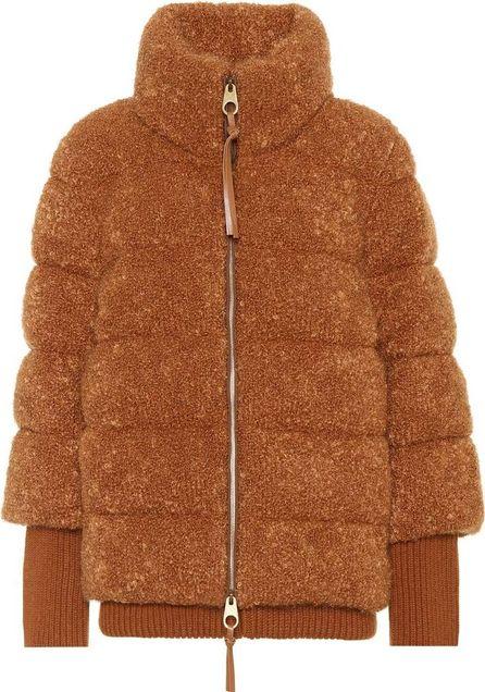 Agnona Mohair-blend jacket