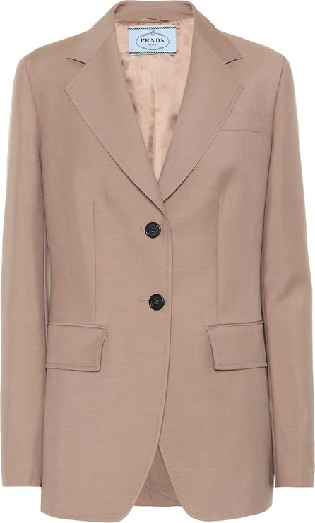 Prada Mohair and wool blazer