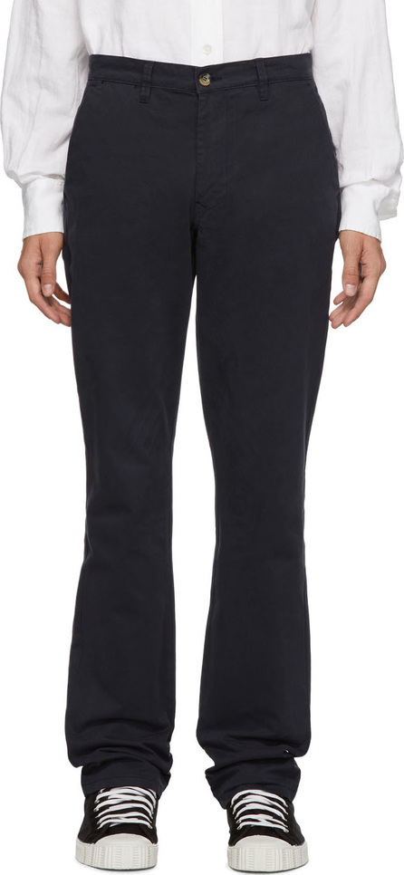 Éditions M.R Navy Aime Classic Tailored Trousers
