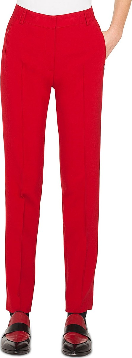 Akris Punto Straight-Leg Jersey Melange Pants