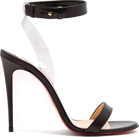 Christian Louboutin Jonatina 100 leather sandals