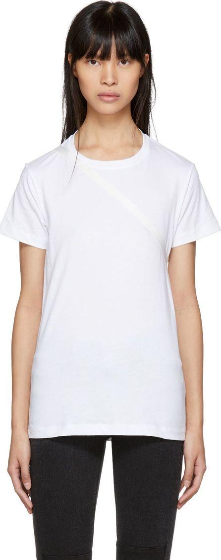 Helmut Lang White Deconstructed T-Shirt