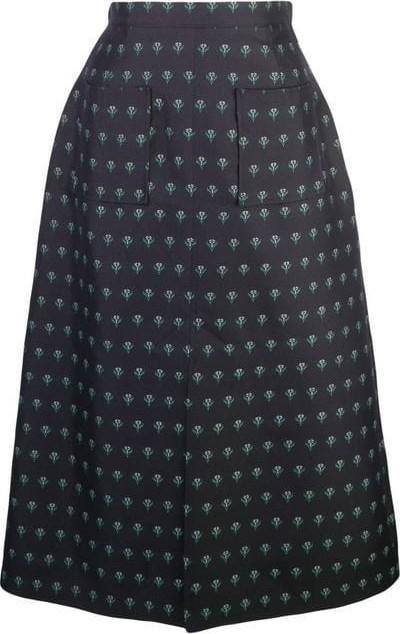 Alexachung floral print skirt
