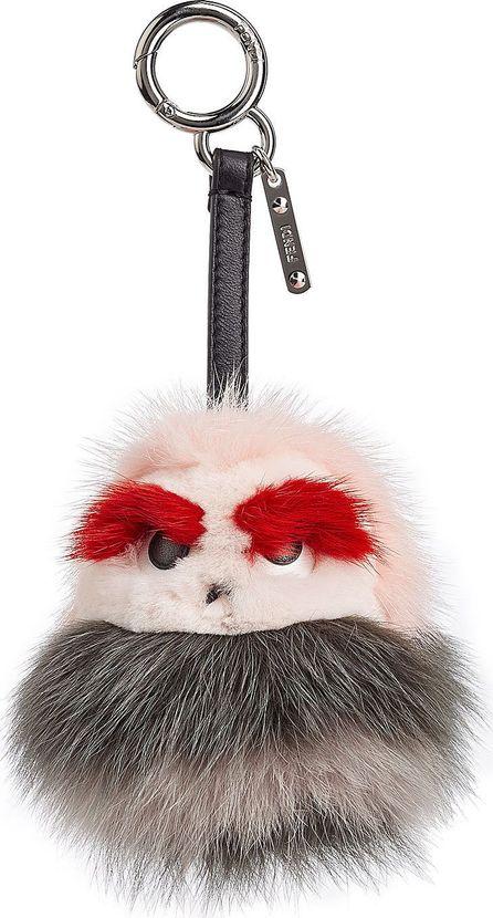 Fendi Fox Fur Keychain