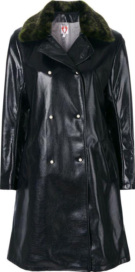 Shrimps Sinclaur faux leather coat