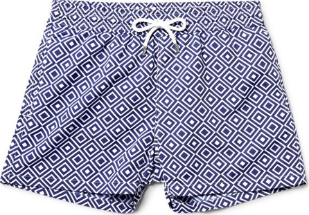 Frescobol Carioca Angra Slim-Fit Short-Length Printed Swim Shorts