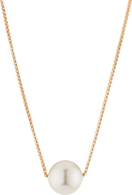 Alex and Ani Sea Sultry Pearly Adjustable Necklace, Rose Gold