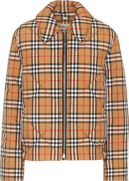 Burberry London England Quilted checked jacket