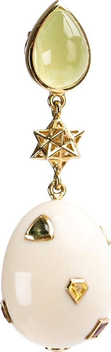 Bibi Van Der Velden 'Mommoth Eggs' earring