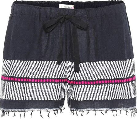 LemLem Makari cotton and wool shorts