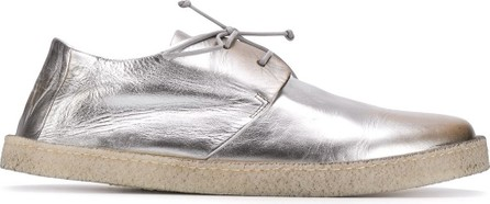 Marsell Metallic lace-up sneakers