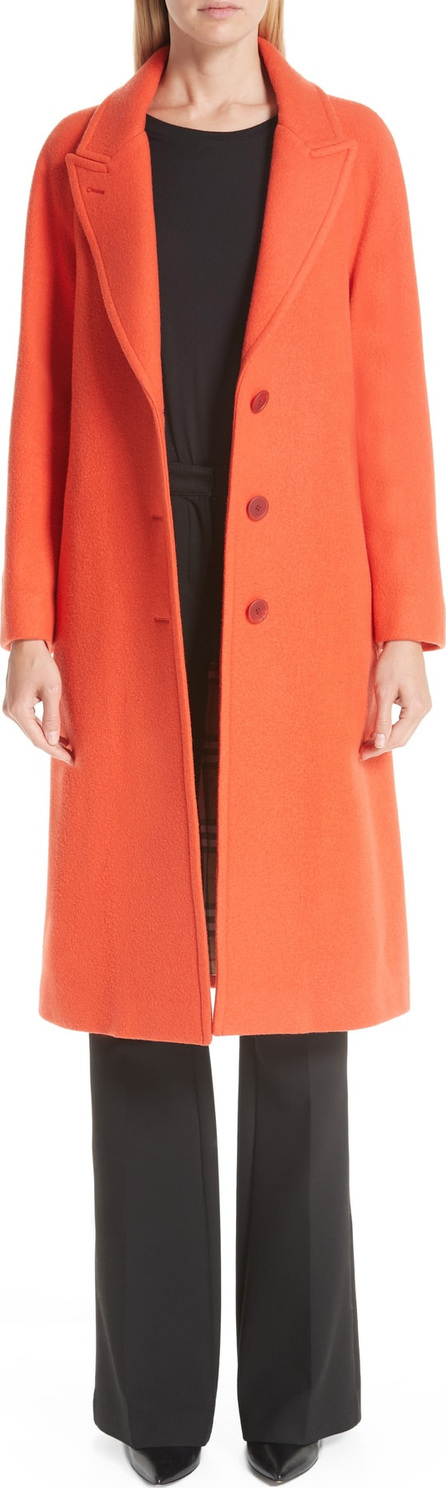 Burberry London England Ellerton Wool Blend Coat