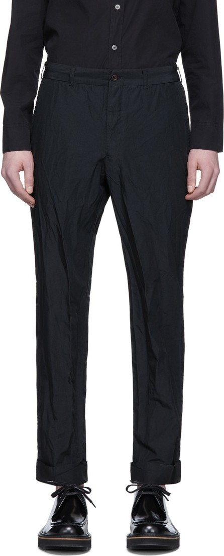 Comme des Garçons Homme Deux Black Taffeta Trousers