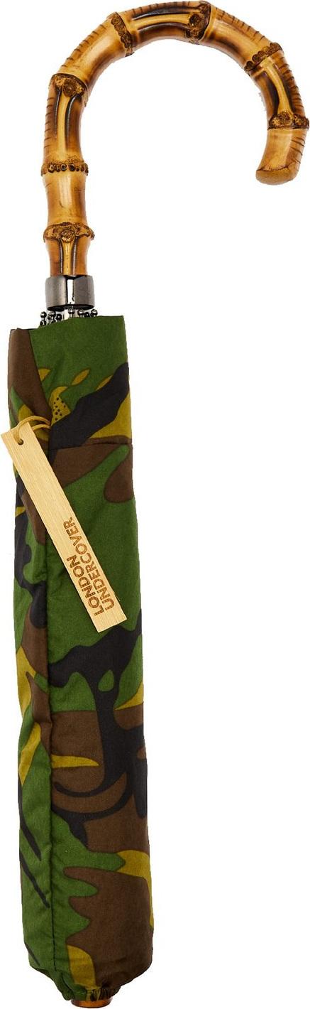 London Undercover Whangee-handle telescopic umbrella