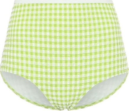 Solid & Striped Exclusive to Mytheresa – The Brigitte gingham bikini bottoms