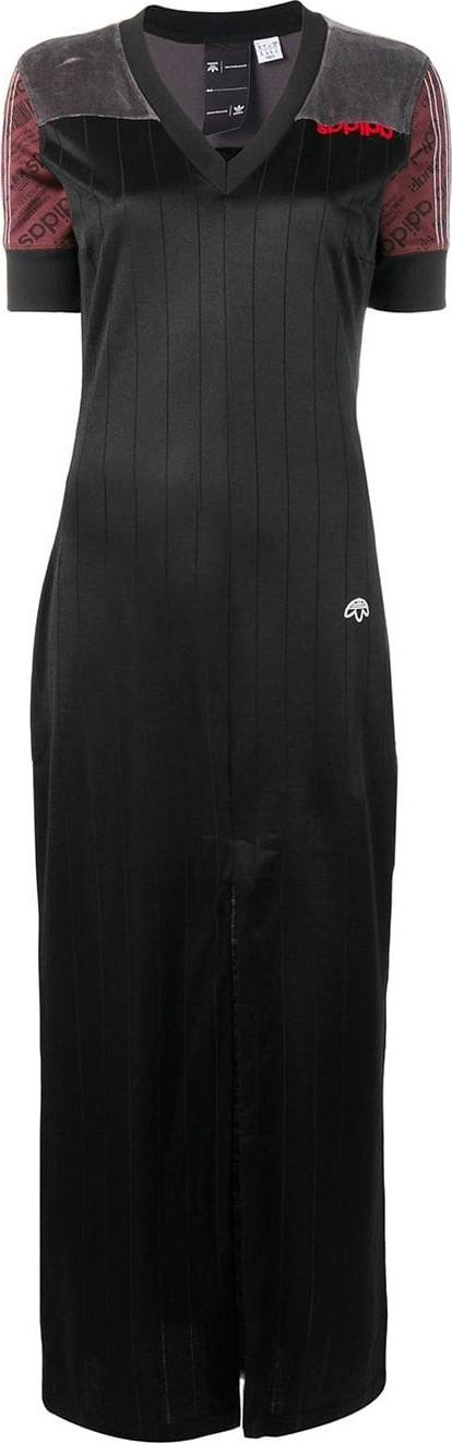 Adidas Originals by Alexander Wang Fitted long dress