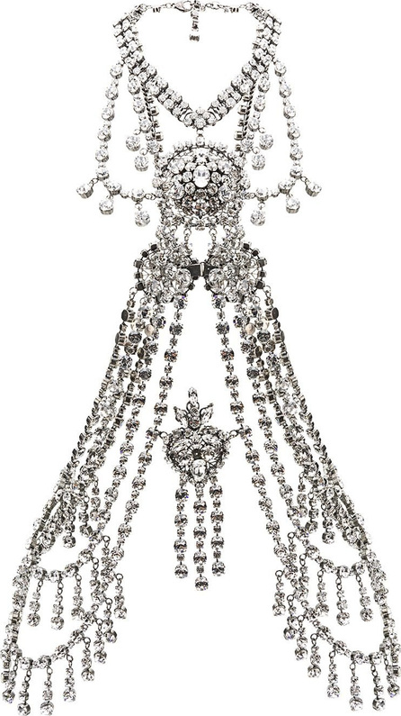 Gucci Crystal body chain