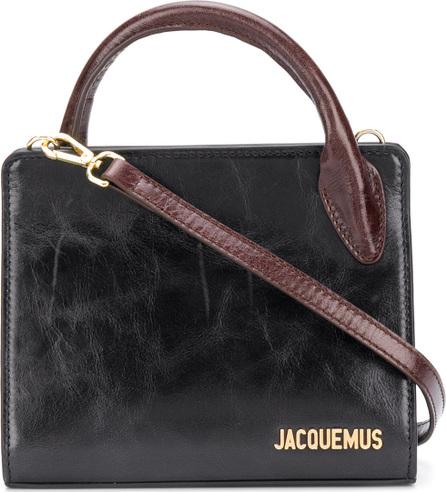 Jacquemus Logo plaque tote
