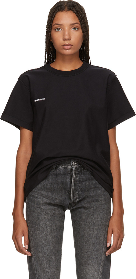 Vetements Black Regular Inside-Out T-Shirt