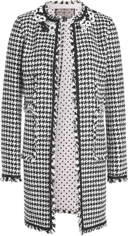 Giambattista Valli Tweed Jacket with Virgin Wool, Silk and Cashmere