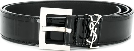 Saint Laurent Classic logo buckle belt