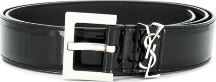 9d065e87e95 Saint Laurent 3cm Black Full-Grain Leather Belt - Mkt