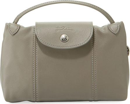Longchamp Le Pliage Cuir Small Crossbody Bag
