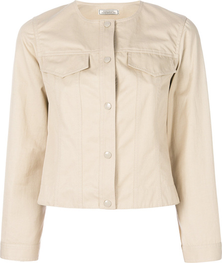 Nina Ricci Collarless buttoned jacket
