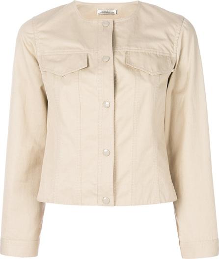 Nina Ricci Collarless buttoned jacket