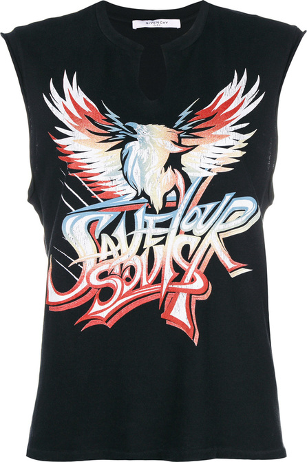 Givenchy Graphic slogan vest