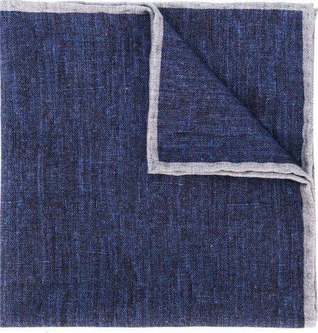 Eleventy Contrast trim handkerchief
