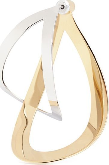 Charlotte Chesnais 'Maxi Endless' cutout geometric plate drop single earring