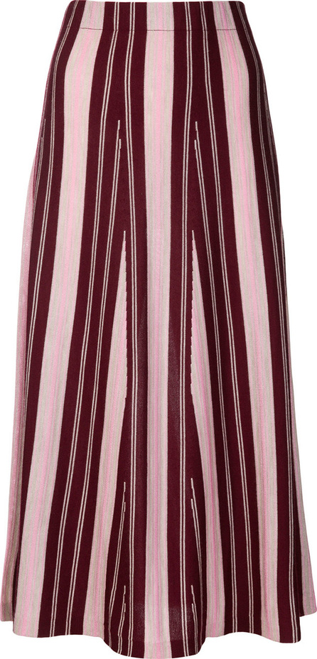 Gabriela Hearst Cashmere striped skirt