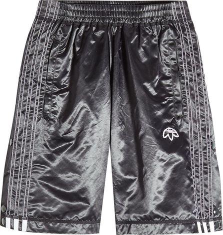 Adidas Originals by Alexander Wang Satin Basketball Shorts
