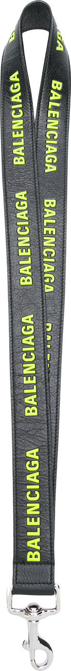 Balenciaga Logo printed lanyard