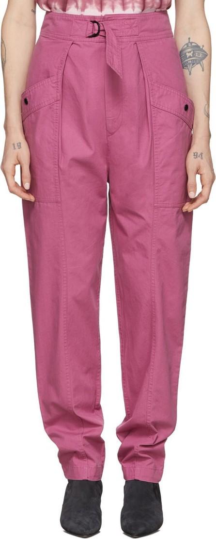 Isabel Marant Etoile Pink Zilyae Trousers