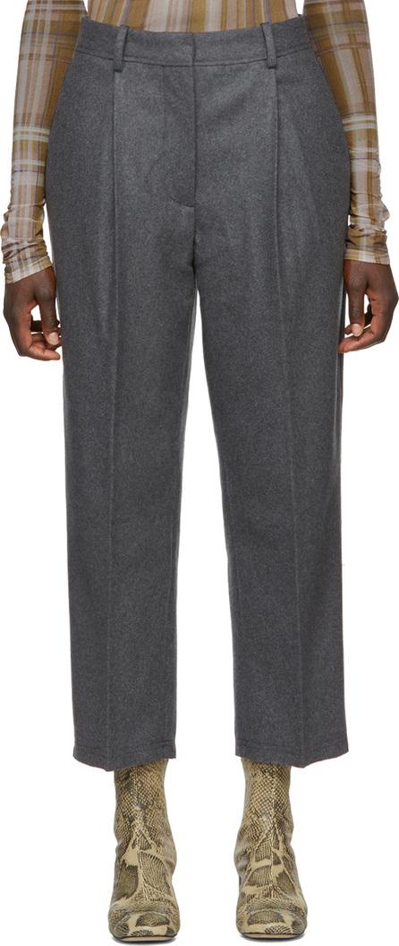 Acne Studios Grey Wool Ryder Trousers