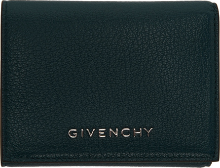 Givenchy Blue Trifold Wallet