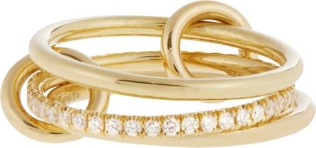 Spinelli Kilcollin Sonny diamond & yellow-gold ring