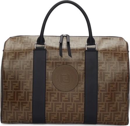 Fendi Brown 'Forever Fendi' Travel Duffle Bag
