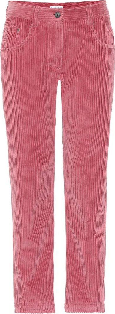 Brunello Cucinelli Corduroy straight-leg pants