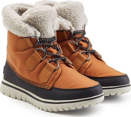 Sorel Cozy Carnival Suede and Rubber Short Boots