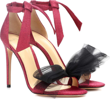 Alexandre Birman Exclusive to mytheresa.com – Clarita lamé and tulle sandals