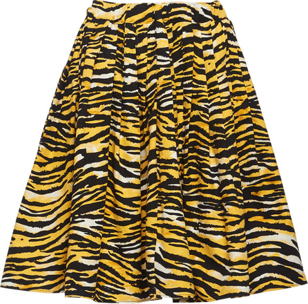 Prada Tiger stripe print skirt