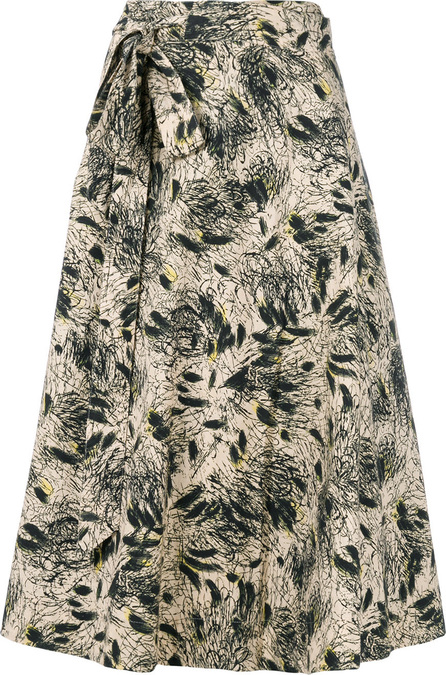 Bellerose Floral flared midi skirt