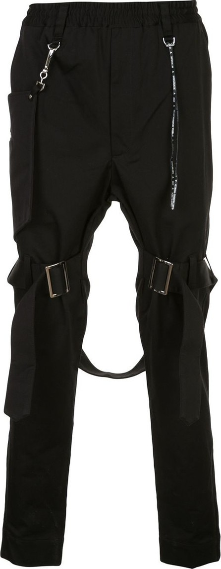 Mastermind Japan Buckle strap trousers