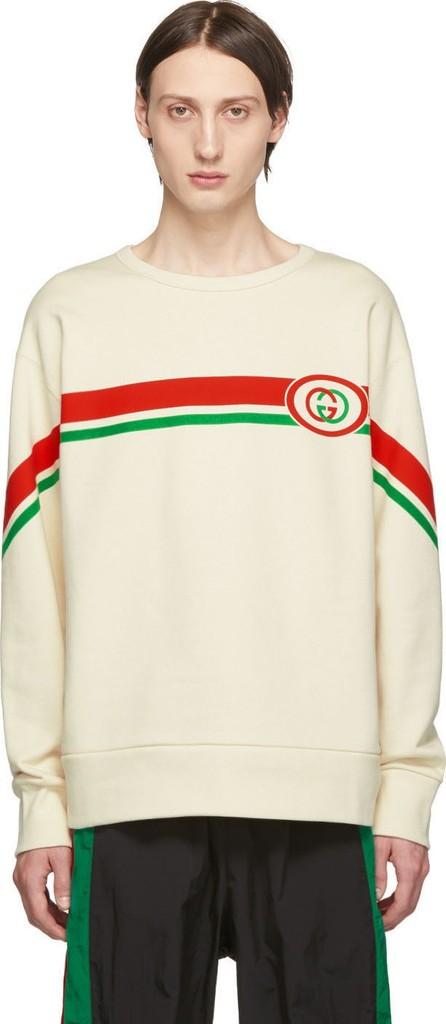 Gucci Off-White Interlocking G Sweatshirt