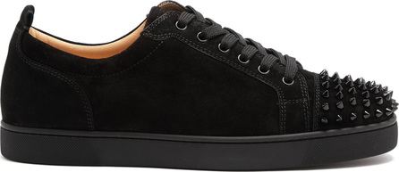 Christian Louboutin Louis Junior suede low-top trainers