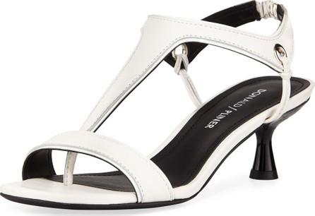 edf8c21ec3c Donald J Pliner Caro T-Strap Leather Sandals
