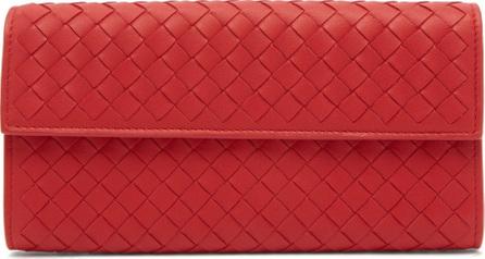 Bottega Veneta Intrecciato continental leather wallet